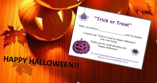 Halloween Trick or Treat Cards