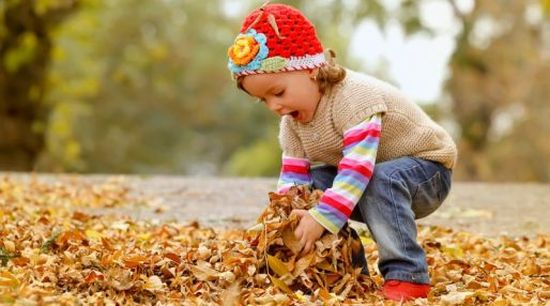 Small Child Autumn